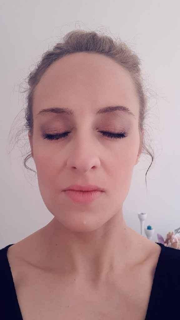 Test maquillage et coiffure 🤗 - 3