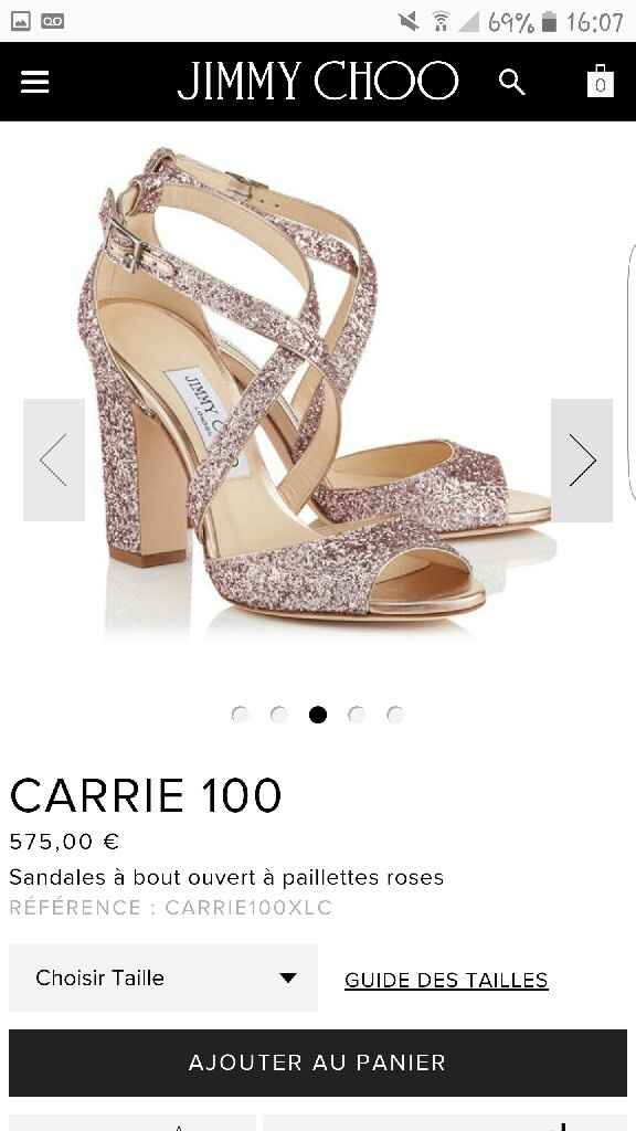 Comment taille jimmy choo? - 1