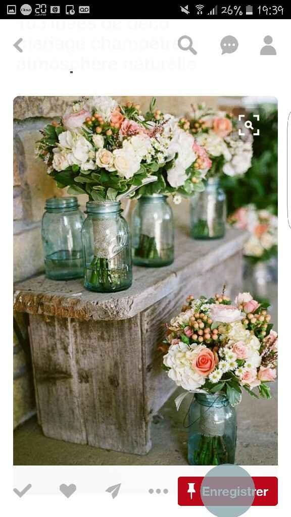 Cherche centre de table pot à visser pour fleur - 1