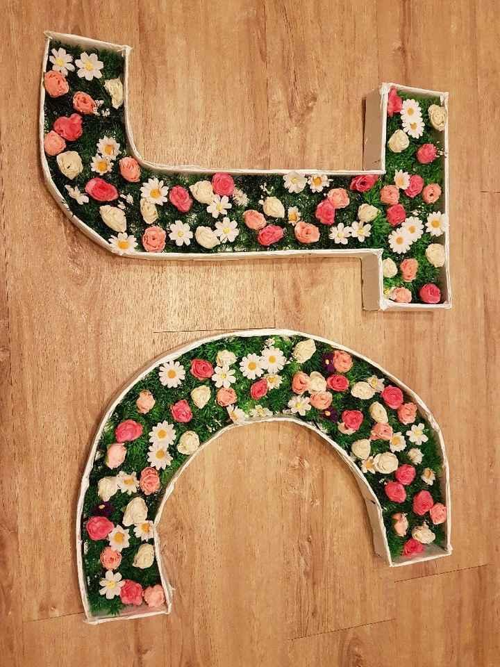 Mes lettres fleuries! - 1