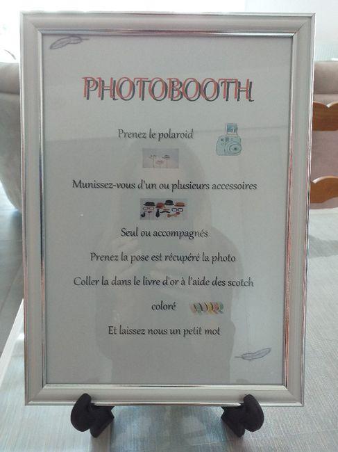 Panneau photobooth 1