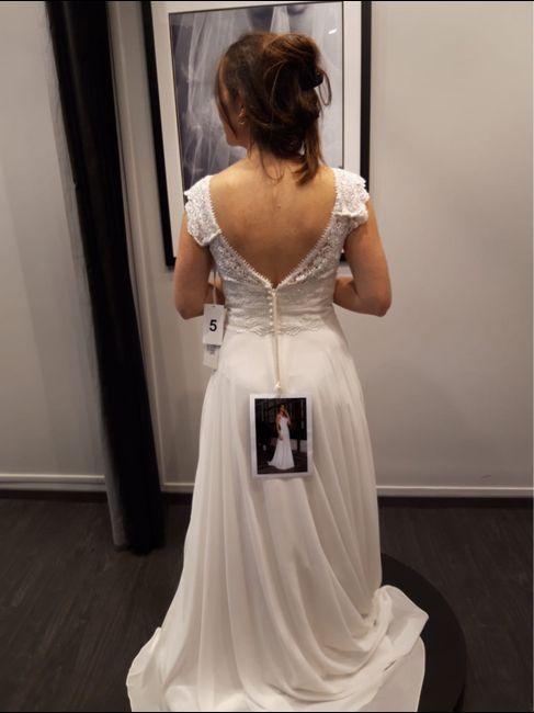 1Er essayage de robe - 2
