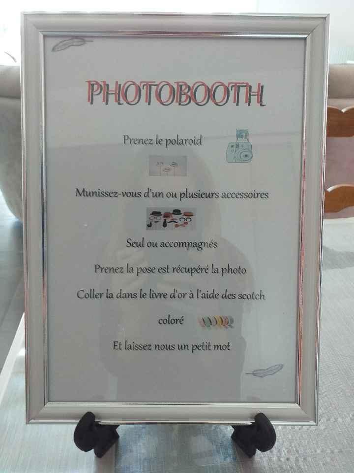 Panneau photobooth - 1