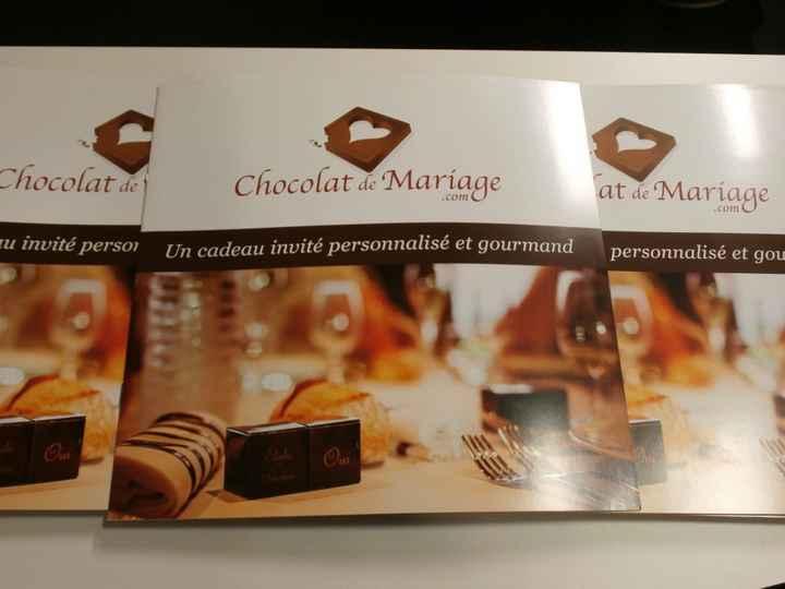 Chocolat personnalisé - 1