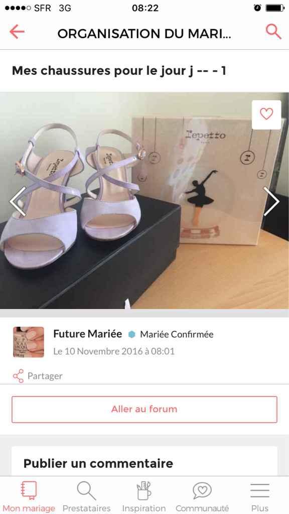 Montrez-moi vos chaussures de mariée ! - 1