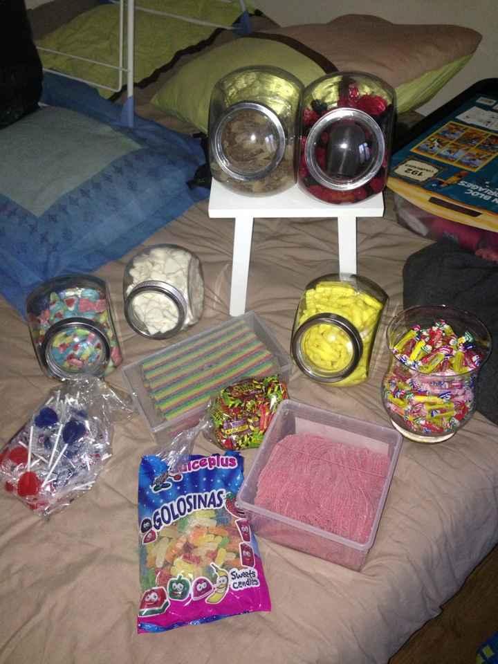 Derniers achat pour le candy bar - 3