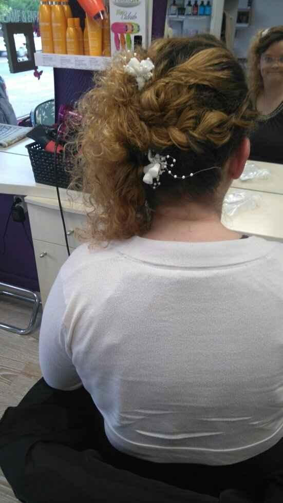 Mon deuxième essai coiffure - 2