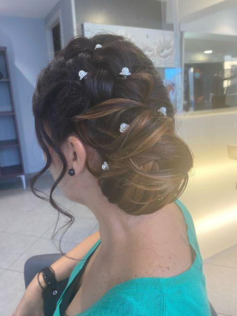 Essai coiffure team 03/10 2