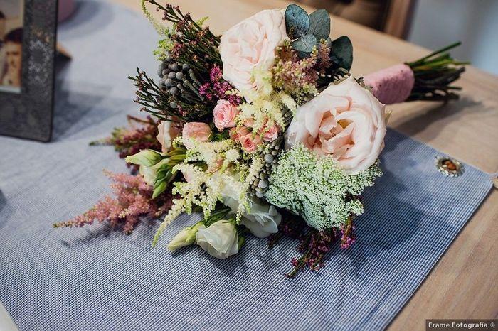 Inspirations mariage d'été: le bouquet 1