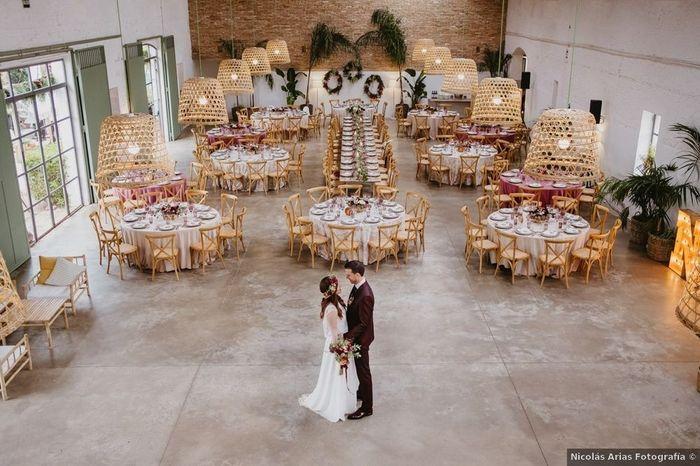 Inspirations mariage d'été : le lieu de réception 1