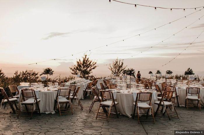 Inspirations mariage d'été : le lieu de réception 2