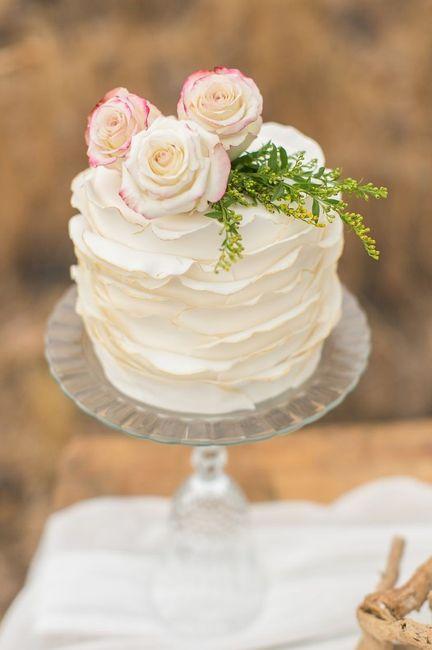 Inspirations mariage d'été : le wedding cake 1