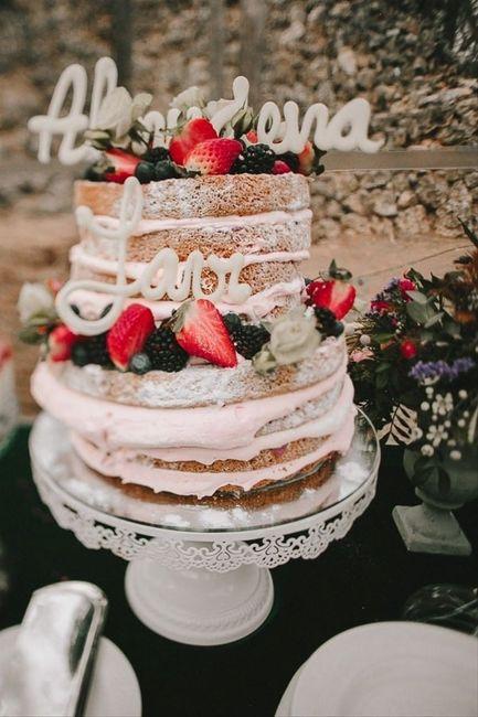 Inspirations mariage d'été : le wedding cake 2