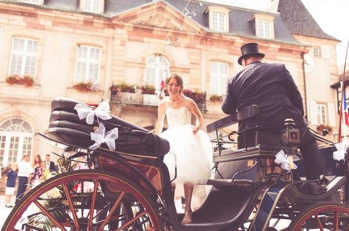 Compose le mariage de tes rêves : Le moyen de transport 2