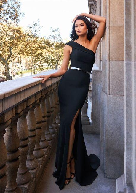 Laquelle de ces robes de cocktail, pourrais-tu porter pour un mariage chic ? 4