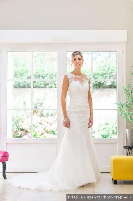 3 photos de la mariée 📸 2
