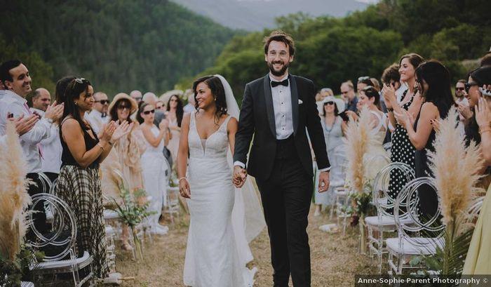 En combien de mois organises-tu ton mariage ? 1