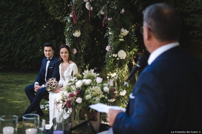 Combien ⭐ pour ce magnifique mariage laïque en pleine nature ! 1