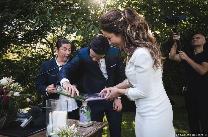 Combien ⭐ pour ce magnifique mariage laïque en pleine nature ! 2