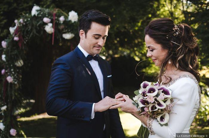 Combien ⭐ pour ce magnifique mariage laïque en pleine nature ! 3