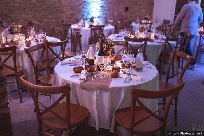 Iras-tu décorer le lieu de réception la veille du mariage ? 1