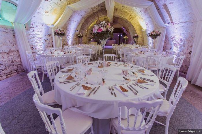 Choisi ta déco de mariage : La table 2