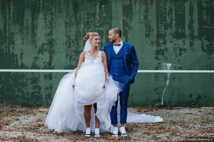 Des baskets personnalisées pour ton mariage ! 1