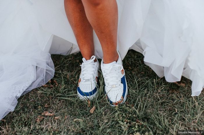 Des baskets personnalisées pour ton mariage ! 2