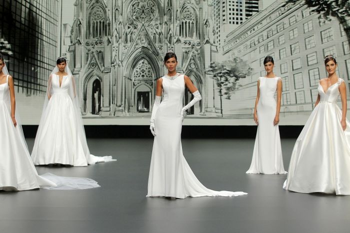 House of St Patrick à la Valmont Barcelona Bridal Fashion Week ! 1