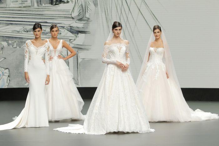 House of St Patrick à la Valmont Barcelona Bridal Fashion Week ! 2