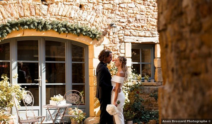 Comment imagines-tu la réaction de ton futur lorsqu'il te découvrira dans ta robe de mariée ? 1