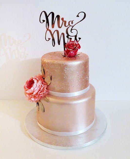 ✨ Le Gâteau de mariage 1