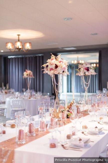 Les tables de ton mariage : rondes ou carrées ? 1