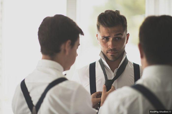 Le marié : Avec ou sans lunette ? 1