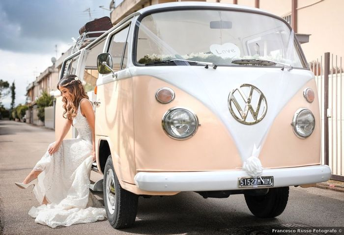 Ce combi volkswagen rose pour ton mariage ? 💕 1