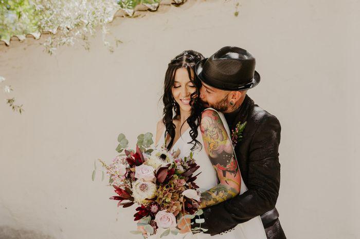 Verra-t-on tes tatouages le jour du mariage ? 1