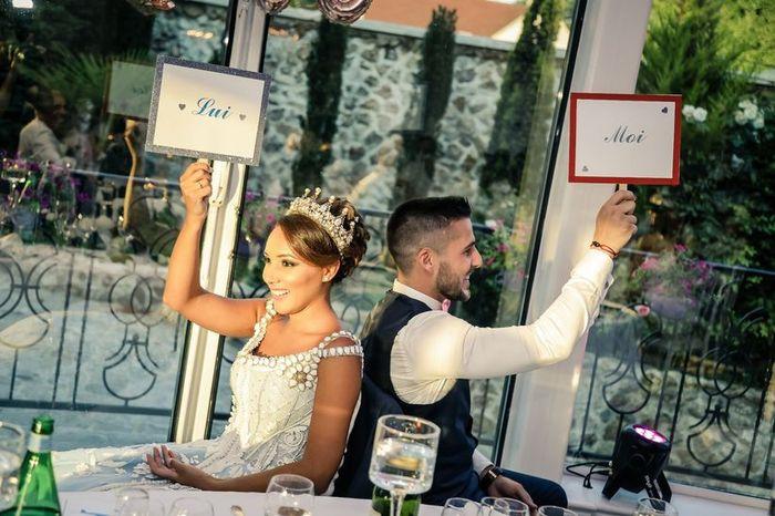 Voici 5 idées d'animations géniales  pour ton mariage ! Vote pour ton coup de ❤️! 5
