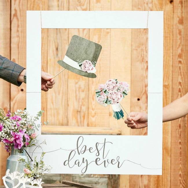 Voici 5 idées d'animations géniales  pour ton mariage ! Vote pour ton coup de ❤️! 1