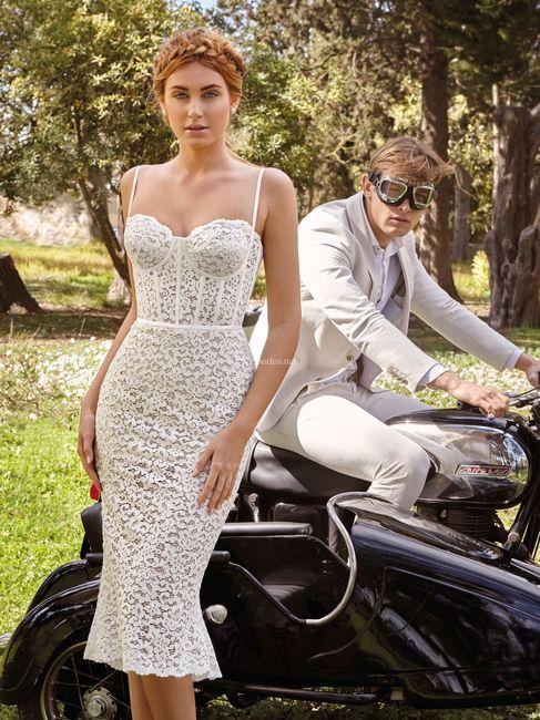 Laquelle de ces tenues de mariée ? ⚡ 3
