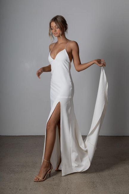 Laquelle de ces tenues de mariée ? ⚡ 4