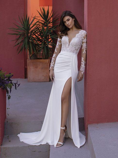 Laquelle de ces tenues de mariée ? ⚡ 6