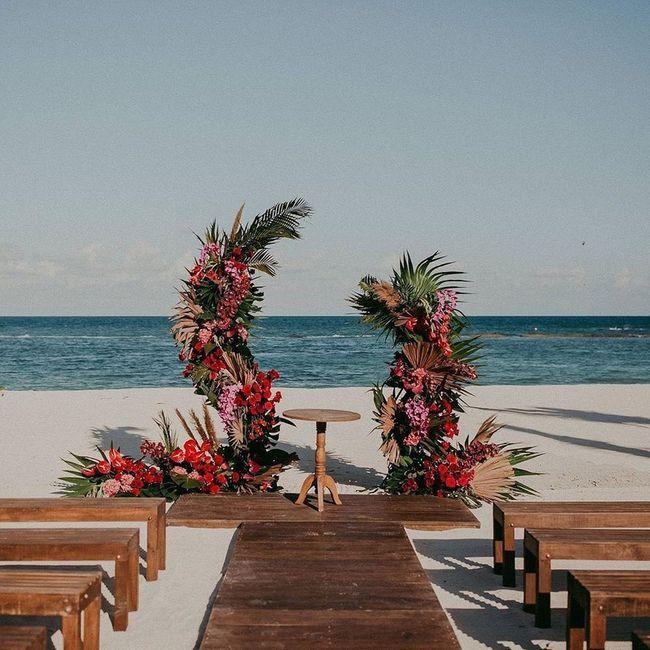 Un mariage à la plage : tu valides ? 1