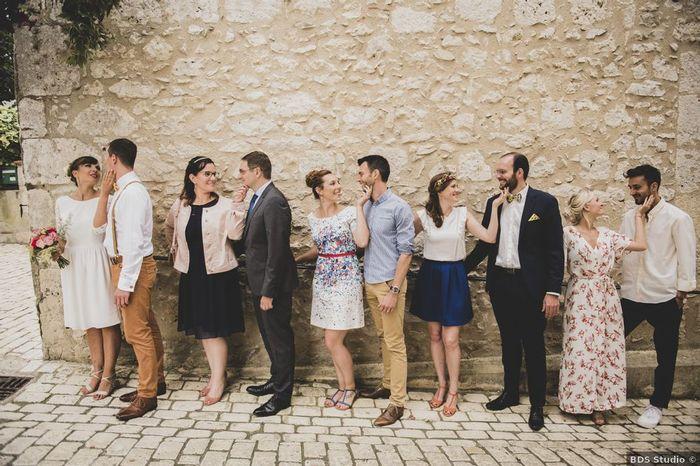 Qui sera l'ami(e) de plus longue date, présent à ton mariage ? 1