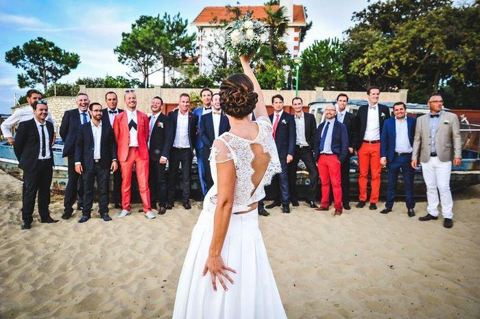 As-tu déjà remporté le bouquet de la mariée ? 1