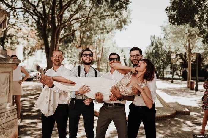 Qui aura le plus d'amis invités au mariage ? 1