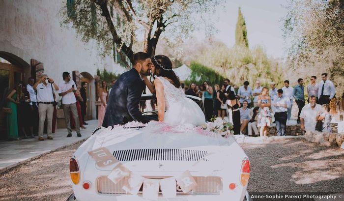 Décorer la voiture des mariés : oui ou non ?! 1