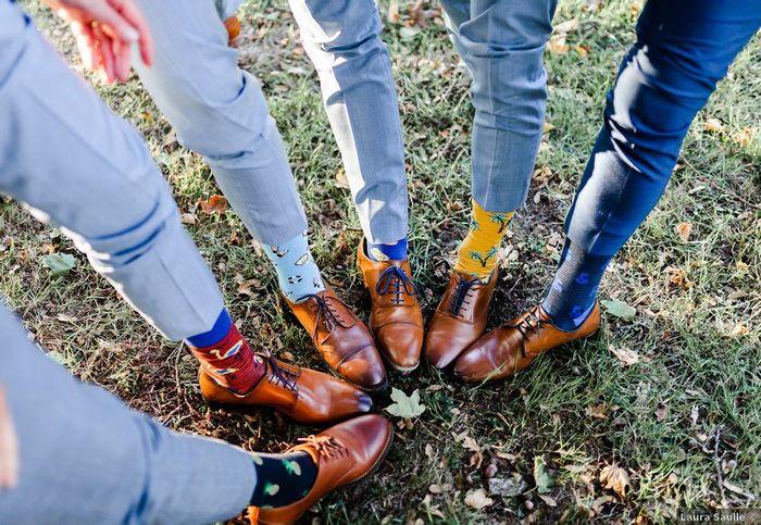 Assumerez-vous de porter ces chaussettes ? 1