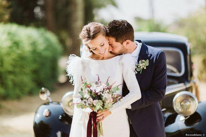 Match ou Next : Le bouquet de la mariée 1