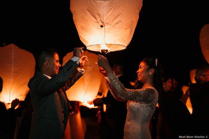 Lâcher de lanternes pour ton grand jour ?! 1