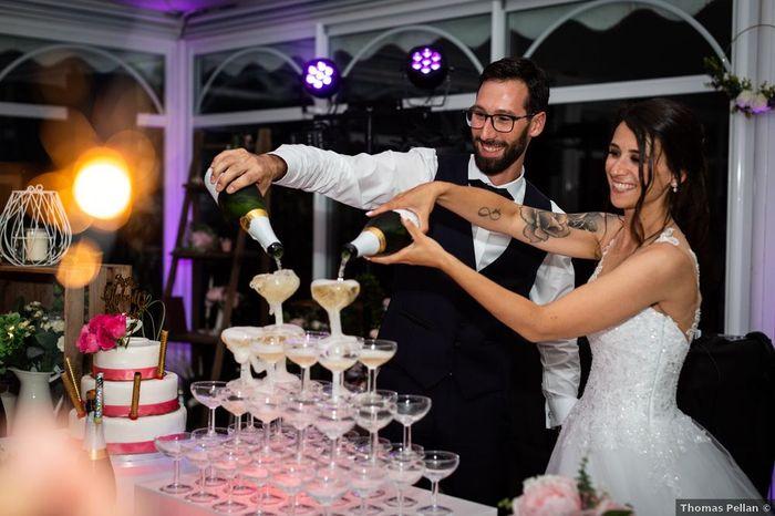 Une fontaine de champagne à ton mariage ? - 1